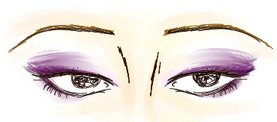 Have close set eyes illustration on how to apply eye makeup close set eyes ccuart